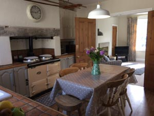 Dales Cottage Dining Kitchen